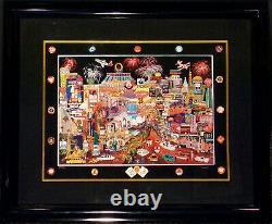 Roxy Las Vegas Gold II Hand Signed Giclee Fine Art Print on Paper AP 14/20 OBO