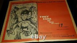 They Came To Rob Las Vegas Rare Original 1969 Promo Poster Ad Framed