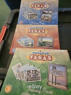 Vintage Vegas Framing Prints 1-3